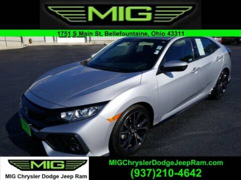 2018 Honda Civic for sale at MIG Chrysler Dodge Jeep Ram in Bellefontaine OH