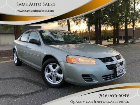 2006 Dodge Stratus for sale at Sams Auto Sales in North Highlands CA