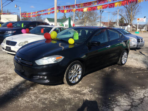 2014 Dodge Dart for sale at Antique Motors in Plymouth IN