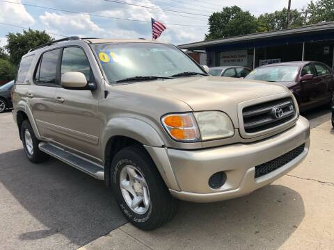 2001 Toyota Sequoia for sale at Wise Investments Auto Sales in Sellersburg IN