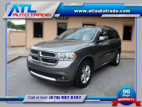 2012 Dodge Durango for sale at ATL Auto Trade, Inc. in Stone Mountain GA