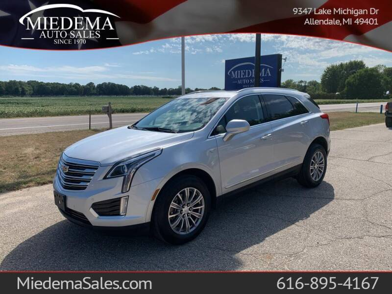 2017 Cadillac XT5 for sale at Miedema Auto Sales in Allendale MI
