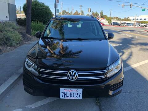 2015 Volkswagen Tiguan for sale at Car House in San Mateo CA