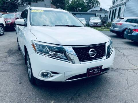 2014 Nissan Pathfinder for sale at SHEFFIELD MOTORS INC in Kenosha WI