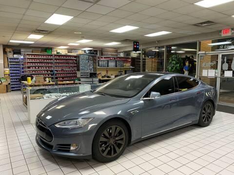 2014 Tesla Model S for sale at FIESTA MOTORS in Hagerstown MD