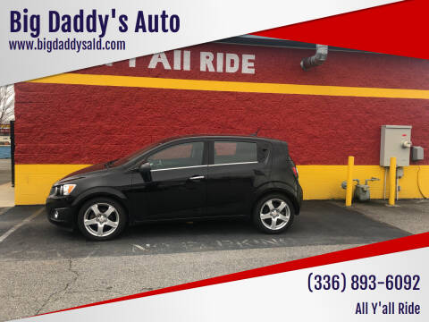 2012 Chevrolet Sonic for sale at Big Daddy's Auto in Winston-Salem NC
