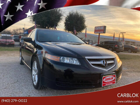 2005 Acura TL for sale at CARBLOK in Lewisville TX