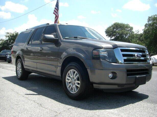 2014 Ford Expedition EL for sale at Manquen Automotive in Simpsonville SC