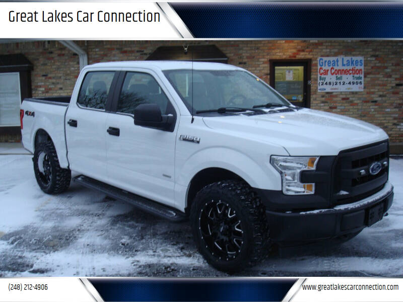 2017 Ford F-150 for sale at Great Lakes Car Connection in Metamora MI