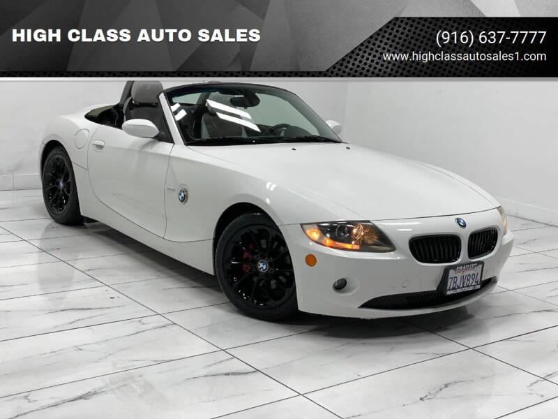 Used Bmw Z4 For Sale In Sacramento Ca Carsforsale Com