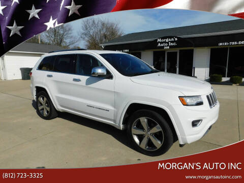 2015 Jeep Grand Cherokee for sale at Morgan's Auto Inc in Paoli IN