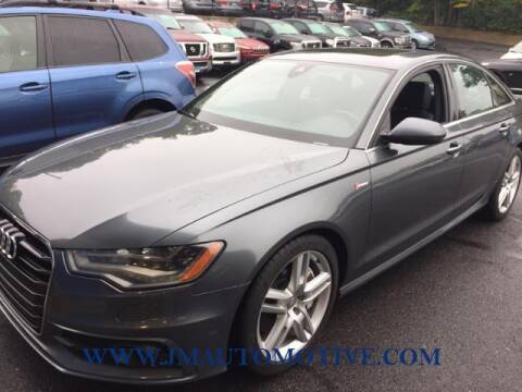 2014 Audi A6 for sale at J & M Automotive in Naugatuck CT