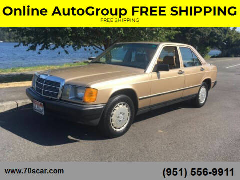 1984 Mercedes-Benz 190-Class for sale at Online AutoGroup FREE SHIPPING in Riverside CA