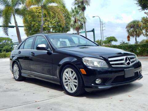 2009 Mercedes-Benz C-Class for sale at VE Auto Gallery LLC in Lake Park FL