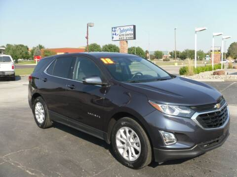 2018 Chevrolet Equinox for sale at Integrity Auto Center in Paola KS