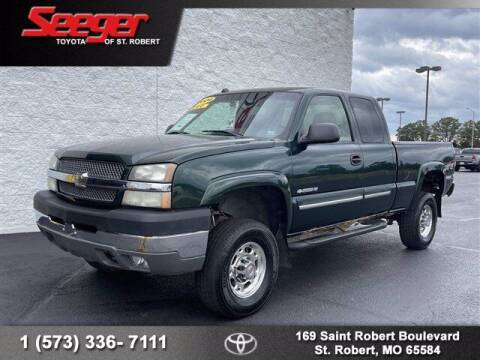 2004 Chevrolet Silverado 2500HD for sale at SEEGER TOYOTA OF ST ROBERT in Saint Robert MO