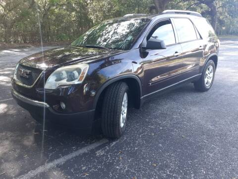 2009 GMC Acadia for sale at Royal Auto Mart in Tampa FL