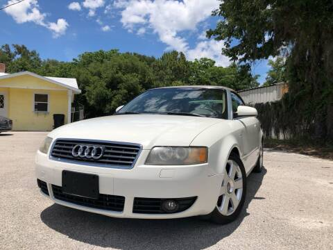 2006 Audi A4 for sale at Louie's Auto Sales in Leesburg FL
