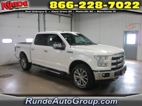 2015 Ford F-150 for sale at Runde Chevrolet in East Dubuque IL