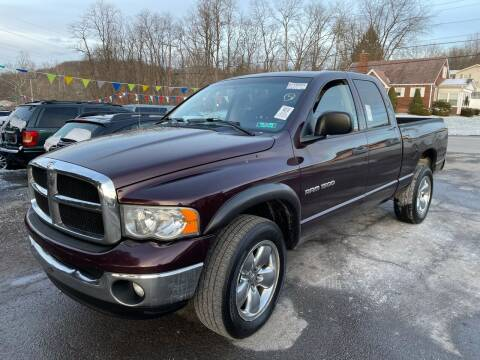 2005 Dodge Ram Pickup 1500 for sale at Trocci's Auto Sales in West Pittsburg PA