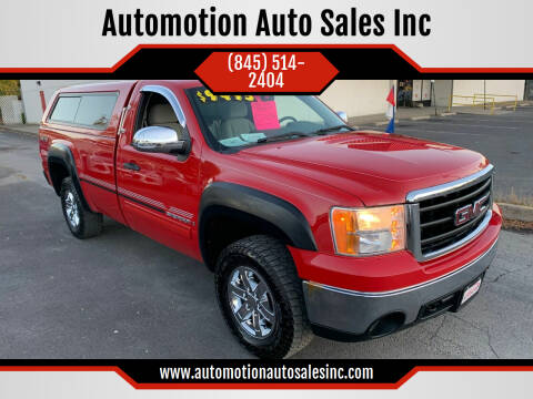 2007 GMC Sierra 1500 for sale at Automotion Auto Sales Inc in Kingston NY