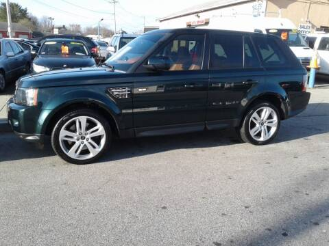2013 Land Rover Range Rover Sport for sale at Nelsons Auto Specialists in New Bedford MA