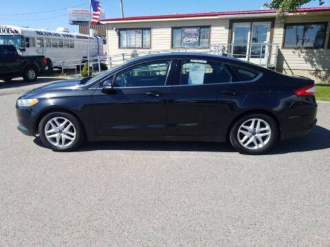 2013 Ford Fusion for sale at Revolution Auto Group in Idaho Falls ID