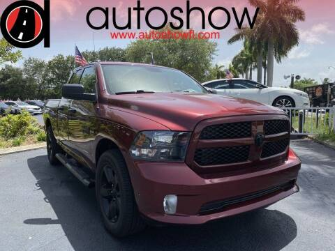 2017 RAM Ram Pickup 1500 for sale at AUTOSHOW SALES & SERVICE in Plantation FL
