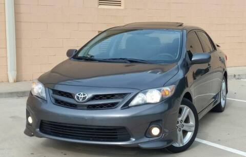 2013 Toyota Corolla for sale at Executive Motor Group in Houston TX