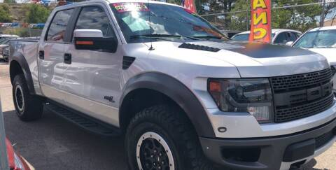 2014 Ford F-150 for sale at Duke City Auto LLC in Gallup NM