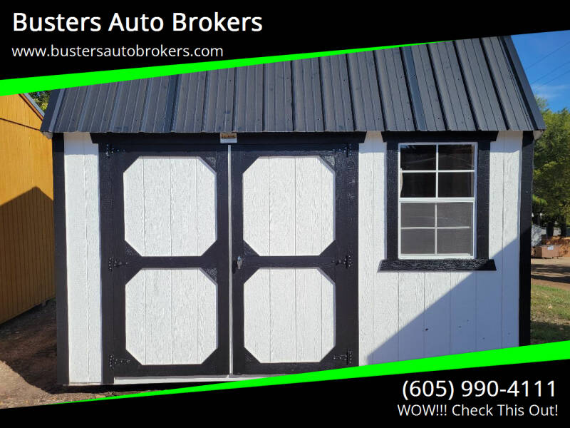 2021 Old Hickory Building 8 X 12 Side Lofted Barn for sale at Busters Auto Brokers in Mitchell SD