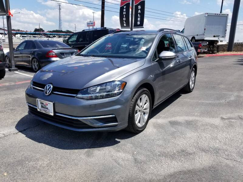 2019 Volkswagen Golf SportWagen for sale at ON THE MOVE INC in Boerne TX