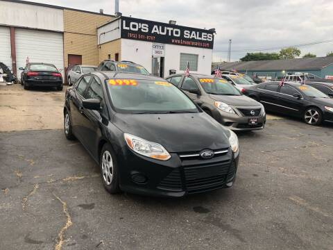 2014 Ford Focus for sale at Lo's Auto Sales in Cincinnati OH