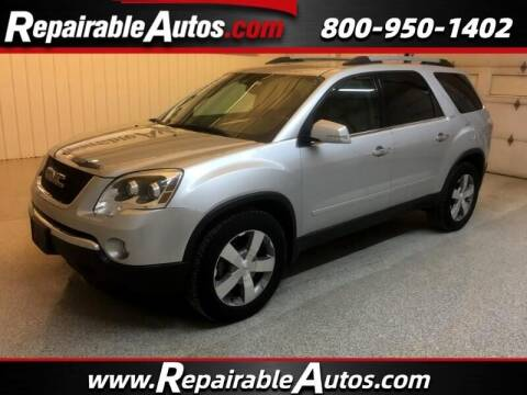 2011 GMC Acadia for sale at Ken's Auto in Strasburg ND