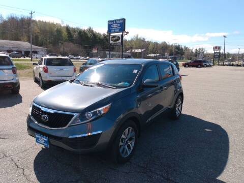 2015 Kia Sportage for sale at Ripley & Fletcher Pre-Owned Sales & Service in Farmington ME