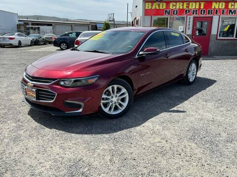 2016 Chevrolet Malibu for sale at Yaktown Motors in Union Gap WA