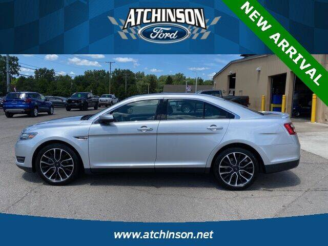 2018 Ford Taurus for sale at Atchinson Ford Sales Inc in Belleville MI