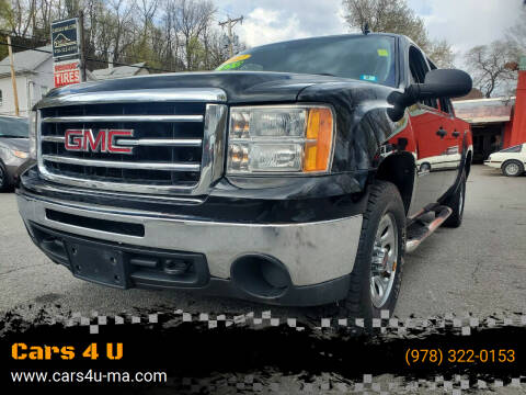 2012 GMC Sierra 1500 for sale at Cars 4 U in Haverhill MA