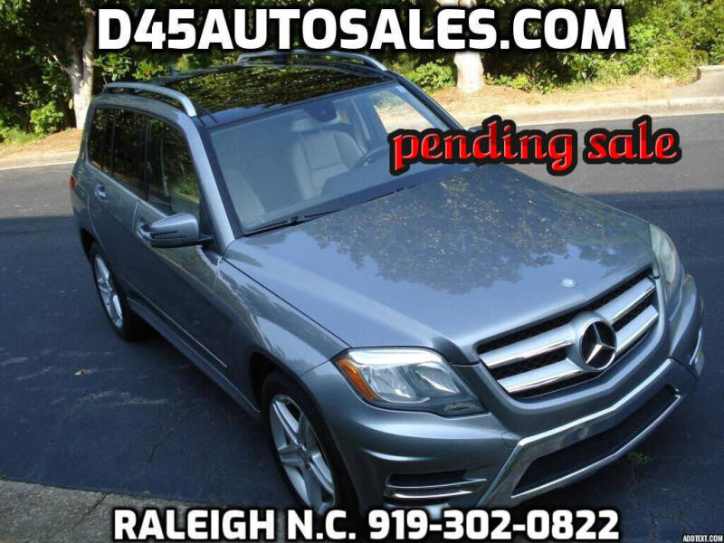 2014 Mercedes-Benz GLK for sale at D45 Auto Brokers in Raleigh NC