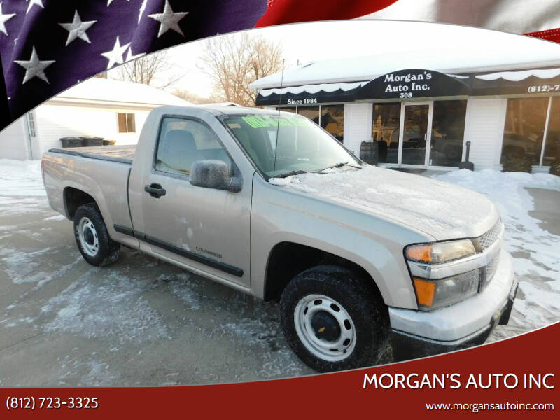 2004 Chevrolet Colorado for sale at Morgan's Auto Inc in Paoli IN