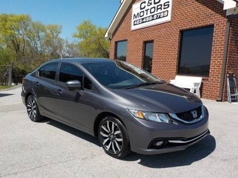 2014 Honda Civic for sale at C & C MOTORS in Chattanooga TN