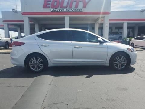 2018 Hyundai Elantra for sale at EQUITY AUTO CENTER in Phoenix AZ