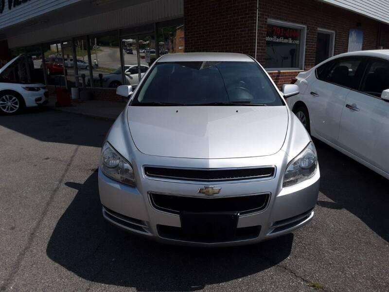 2011 Chevrolet Malibu for sale at Auto Villa in Danville VA