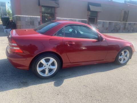 2003 Mercedes-Benz SLK for sale at FAIR DEAL AUTO SALES INC in Houston TX