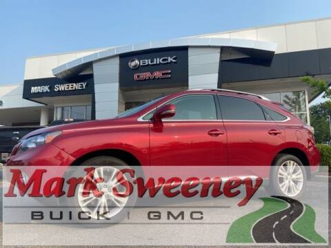 2010 Lexus RX 450h for sale at Mark Sweeney Buick GMC in Cincinnati OH
