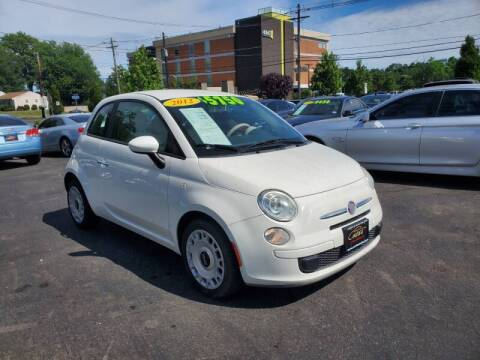 2012 FIAT 500 for sale at Costas Auto Gallery in Rahway NJ