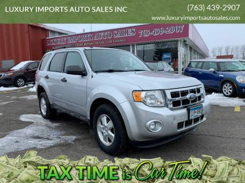 2011 Ford Escape for sale at LUXURY IMPORTS AUTO SALES INC in North Branch MN