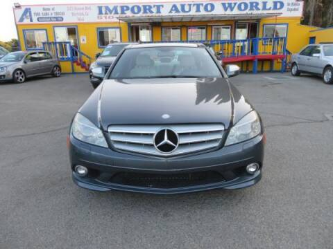 2009 Mercedes-Benz C-Class for sale at Import Auto World in Hayward CA