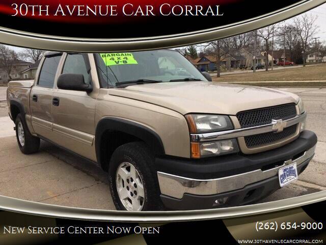 2005 Chevrolet Silverado 1500 for sale at 30th Avenue Car Corral in Kenosha WI