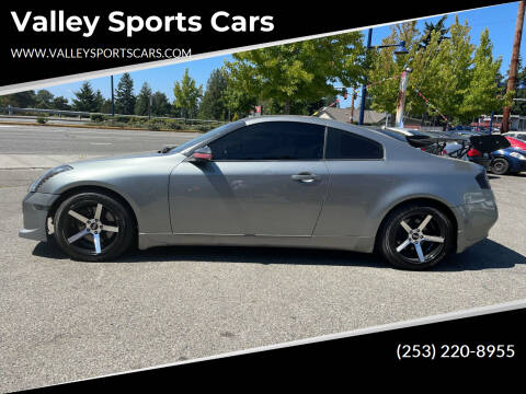 2006 Infiniti G35 for sale at Valley Sports Cars in Des Moines WA